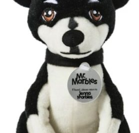 Jenna Marbles Mr. Marbles Stuffed Animal Collectible Squeaker Toy