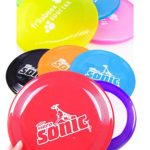 's Play Toy, Doggie Frisbee Chew Toy, Pack of 5,Great for Fetching Catching Jumping