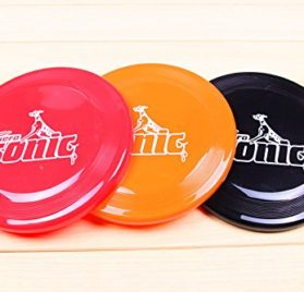 's Play Toy, Doggie Frisbee Chew Toy, Pack of 5,Great for Fetching Catching Jumping 2