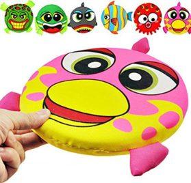 's Play Toy,Funny Cartoon Doggie Frisbee Chew Toy