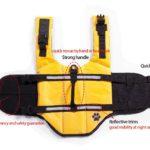 Designer Dog Life Jacket Pet Saver Vest Coat Floation Float Ait Buoyancy 3
