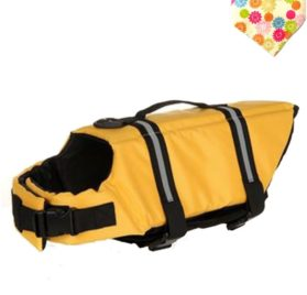 Float Coat Dog Life Jacket Quick Release Easy-Fit Adjustable Dog Life Protecter
