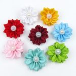Alfie Pet by Petoga Couture - Cherrie Flower Hair Clip 8-Piece Set for Dogs, Cats and Small Animals