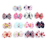 Alfie Pet by Petoga Couture - Edena Bow Hair Clip 14-Piece Set for Dogs, Cats and Small Animals 3