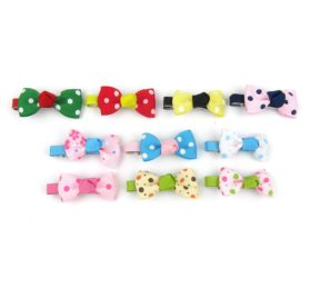 Alfie Pet by Petoga Couture - Stephy Bow Hair Clip 10-Piece Set for Dogs, Cats and Small Animals 2