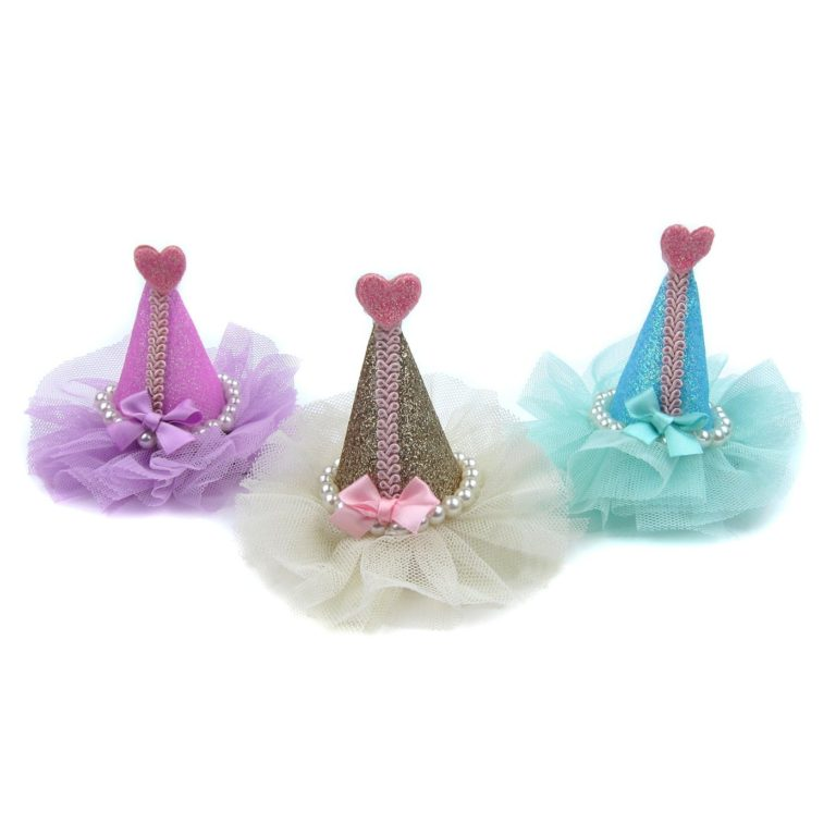 Alfie Pet by Petoga Couture - Beatrice Hat Hair Clip for Dogs, Cats and Small Animals