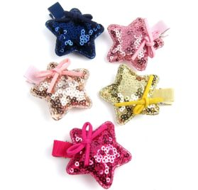 Alfie Pet by Petoga Couture - Brisa Star Hair Clip 14-Piece Set for Dogs, Cats and Small Animals 2