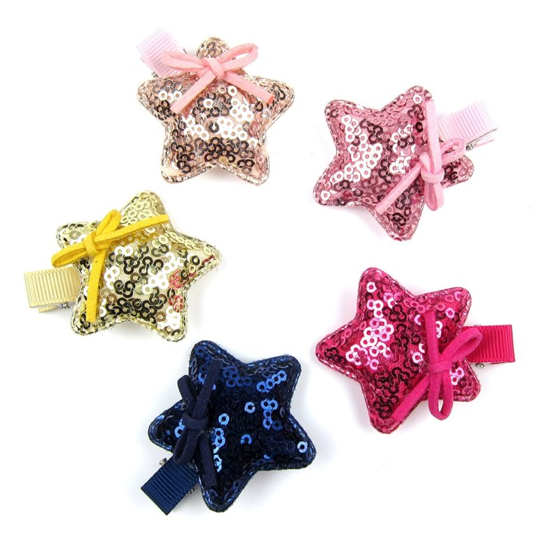 Alfie Pet by Petoga Couture - Brisa Star Hair Clip 14-Piece Set for Dogs, Cats and Small Animals