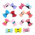 Alfie Pet by Petoga Couture - Cacey Bow Hair Clip 15-Piece Set for Dogs, Cats and Small Animals 2