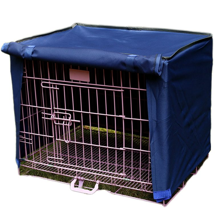 Alfie Pet by Petoga Couture - Finch Pet Polyester Crate Cover