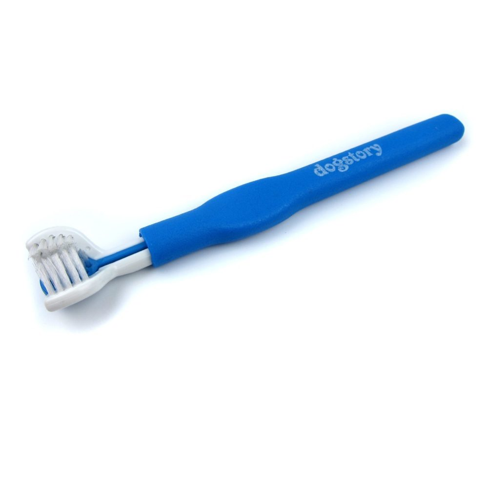 alfie pet by petoga couture flann triple toothbrush and two finger