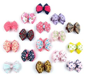 Alfie Pet by Petoga Couture - Jane Bow Hair Clip 16-Piece Set for Dogs, Cats and Small Animals 2
