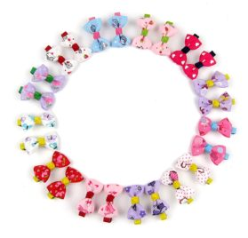 Alfie Pet by Petoga Couture - Jasmine Bow Hair Clip 24-Piece Set for Dogs, Cats and Small Animals 2