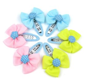 Alfie Pet by Petoga Couture - Melinda Bow Hair Clip 6-Piece Set for Dogs, Cats and Small Animals 2