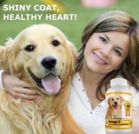 Amazing Combo Omega-3 Fish Oil and Turmeric Curcumin for Dogs - Pure All-Natural Pet Antioxidant 2