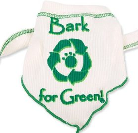 Bark for Green Scarf for Dogs