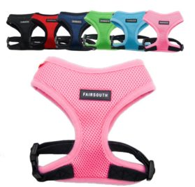 FAIRSOUTH Soft Air Mesh Harness for Dogs-Puppies
