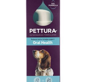 Pettura - Oral Health, Oral Gel Supplement, Reduces Tartar & Helps Support Oral Health, 4 Ounces