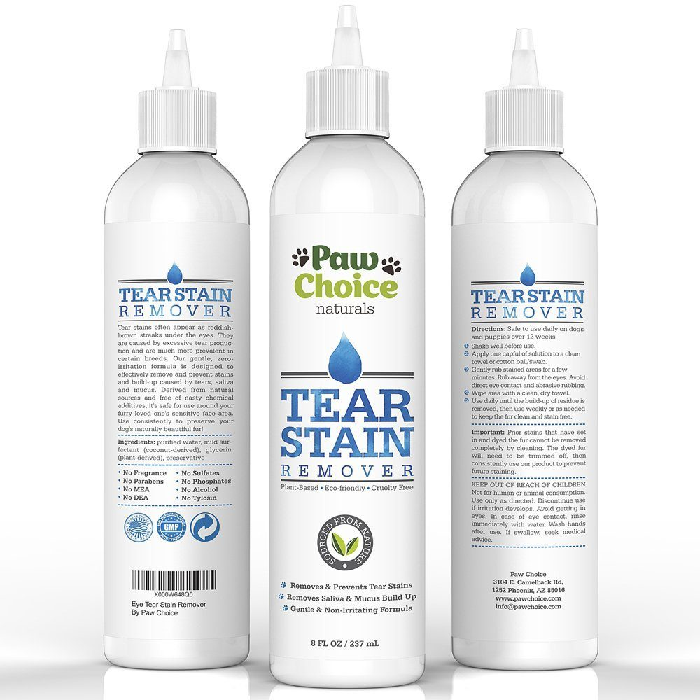 Tear Stain Remover For Dogs And Cats Advanced Natural