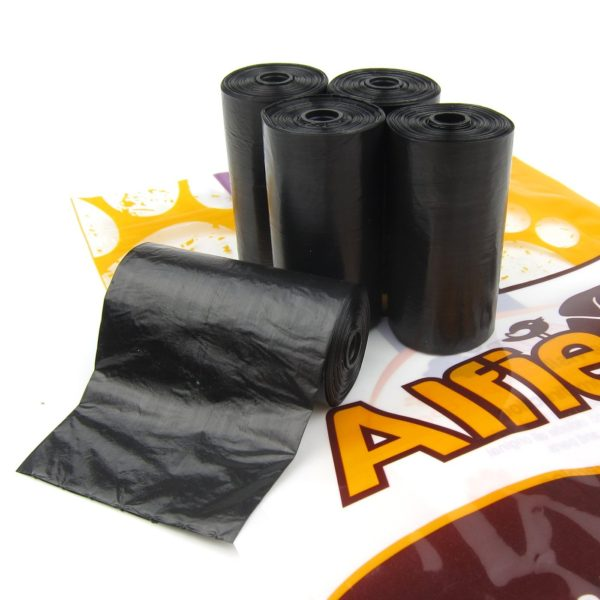 Alfie Pet by Petoga Couture - 5 Refill Rolls Bag for Jac Pet Waste Pickup tool