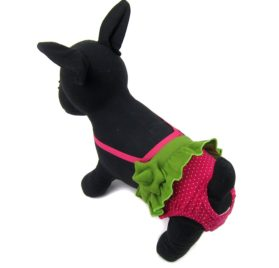 Alfie Pet by Petoga Couture - Andrea Diaper Dog Sanitary Pantie with Suspender