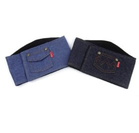 Alfie Pet by Petoga Couture - Cayden Denim Belly Band (for Boy Dogs)
