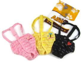Alfie Pet by Petoga Couture - Heidi Diaper Dog Sanitary Pantie with Suspender (for Girl Dogs)