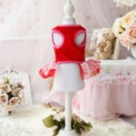 Chicpaw For Teacup Dogs Puppy Coat Chihuahua Red Bear Pet Clothes Dress 5