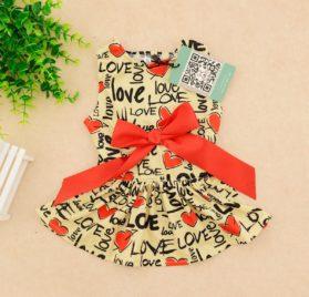 CuteBone Dog Dress Doggie Sundress Pet Clothes Dog's Princess Dresses Puppy Skirt DR03 2