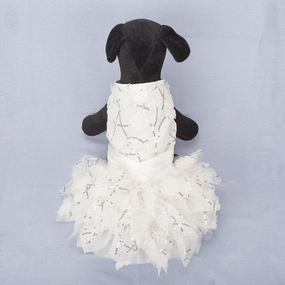 Dog Dresses Lillypet 174 Lace Pet Dog Wedding Dress Bride