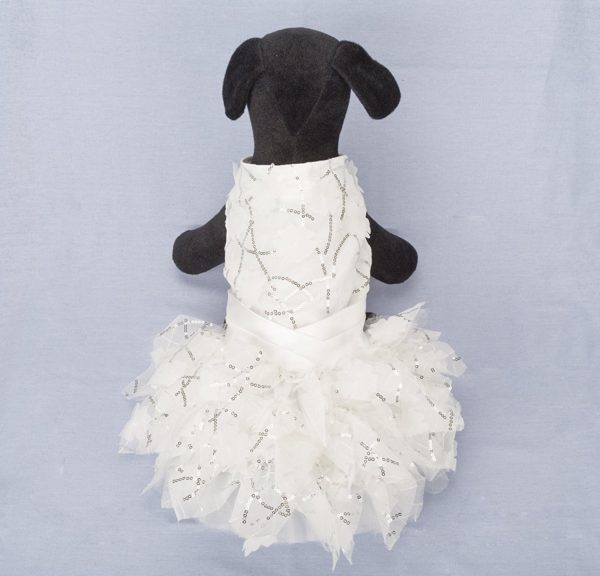 Dog Dresses,Lillypet® Lace Pet Dog Wedding Dress Bride Formal Clothes Tutu Vest