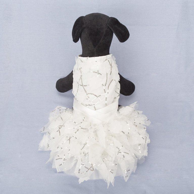 Dog Dresses,Lillypet® Lace Pet Dog Wedding Dress Bride Formal Clothes Tutu Vest