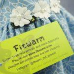 Fitwarm Elegant Floral Denim Pet Clothes for Dog Dress Sundress Vest Shirt, Blue 5