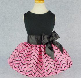 Fitwarm Luxury Pink Princess Dog Dress for Pet Clothes Vest Shirts Apparel, Pink 2