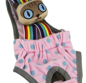 Lovely Rainbow Pet Dog Puppy Teddy Tighten Strap Reusable Diapers 2
