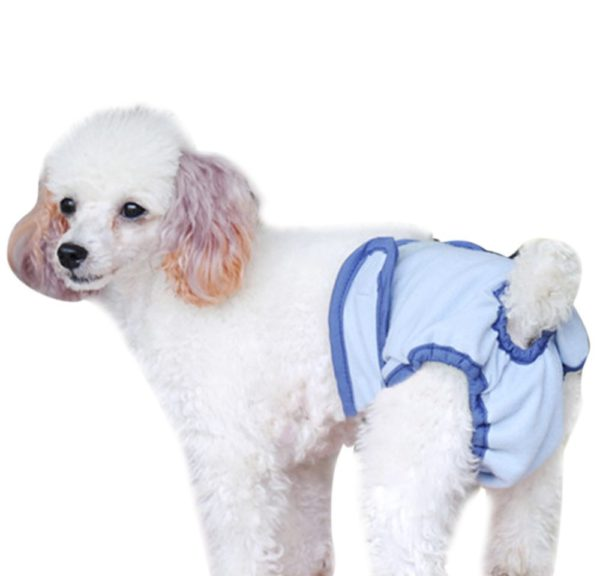 Pet Dog Breathable Diaper Cover-up Washable Sanitary Pantie Pants Training Incontinence dog diapers