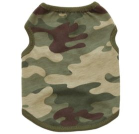 2017 Hot Pet Vest! AMA(TM) Pet Puppy Small Dog Clothes Chihuahua Camouflage Cotton Vest T-Shirt Doggy Shirts Apparel Costume