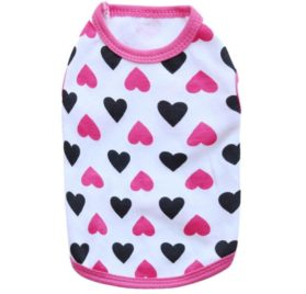 2017 Hot Pet Vest! AMA(TM) Pet Puppy Small Dog Clothes Chihuahua Love Cotton Vest T-Shirt Doggy Apparel Costume