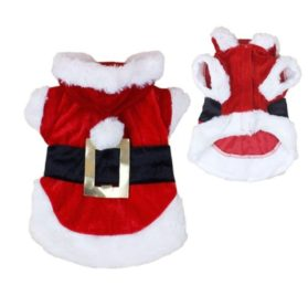 New Santa Dog Costume Christmas Pet Clothes Winter Hoodie Coat Clothes for Dog Pet Clothing Chihuahua Yorkshire Poodle