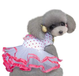Outtop Pet Clothes, Small Dogs Princess Dress Skirt Apparel Costume Accessory for Dog