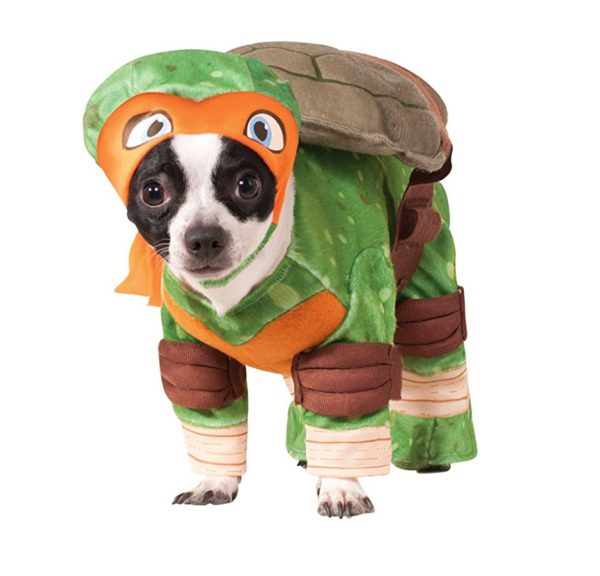 Rubies Costume Company Teenage Mutant Ninja Turtles Michelangelo Pet Costume