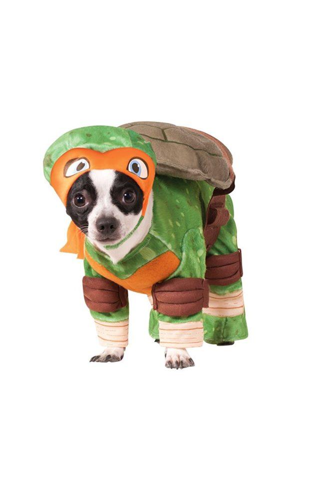 Rubies Costume Company Teenage Mutant Ninja Turtles Michelangelo Pet Costume  sc 1 st  Chihuahua Kingdom & Rubies Costume Company Teenage Mutant Ninja Turtles Michelangelo Pet ...