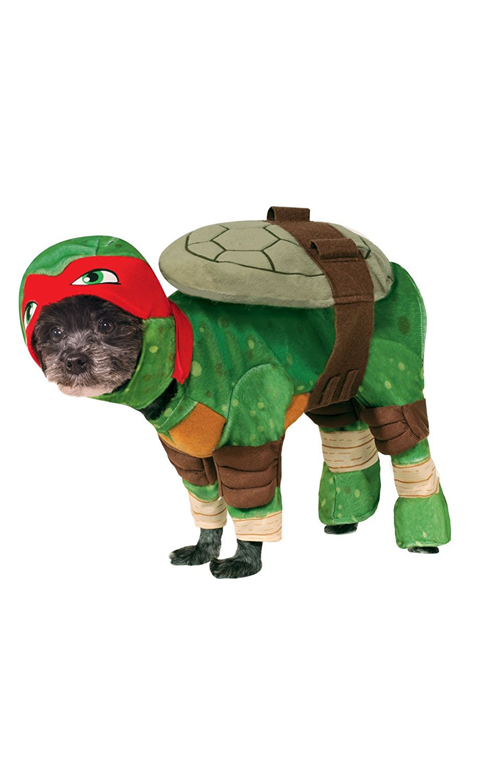 sc 1 st  Chihuahua Kingdom & Rubies Costume Company Teenage Mutant Ninja Turtles Rafael Pet Costume