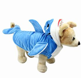 Yoption Pet Puppy Dog Christmas Halloween Clothes Outwear Coat Apparel Hoodie 7