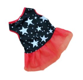 2017 Hot! Dog Costume Warm Winter Dogs Clothes Lace Party Costume Apparel dog clothes chihuahua ropa perro XT