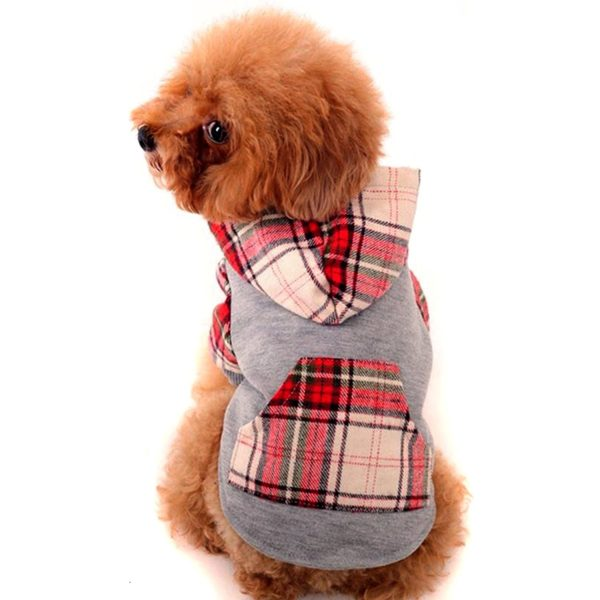 Alfie Pet by Petoga Couture - Leo Flannel Hoodie