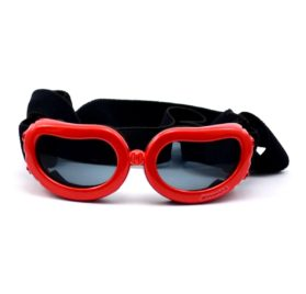 Dog Sunglasses Eye Wear UV Protection Goggles Pet Fashion Extra Small Red