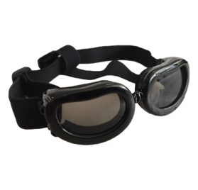 Enjoying Dog Sunglasses for Small Dogs Waterproof Dog Goggles Adjustable Sunglasses for Small Dogs or Cats - Black 6