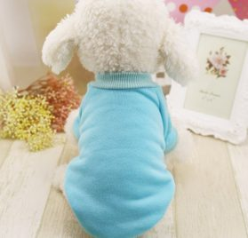 Idepet Cotton Dog Hoodie Cat Pet Clothing Puppy Coat Dog Apparel Winter Spring Sweatshirt Warm Sweater 2