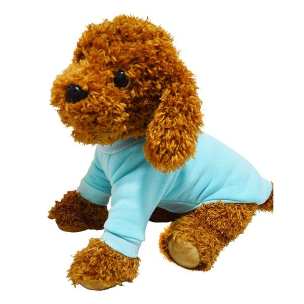 Idepet Cotton Dog Hoodie Cat Pet Clothing Puppy Coat Dog Apparel Winter Spring Sweatshirt Warm Sweater